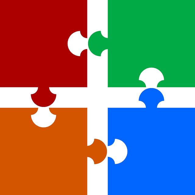 připojit barvy