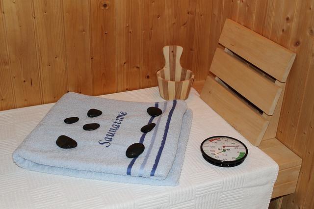 teploměr v sauně