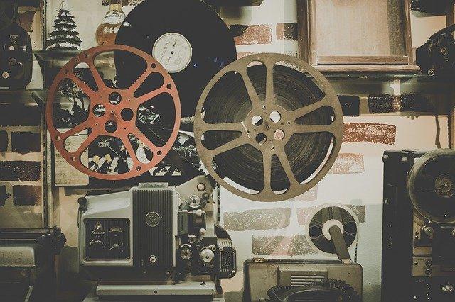starý projektor