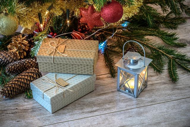 lucerna u dárků
