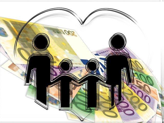 peníze rodiny
