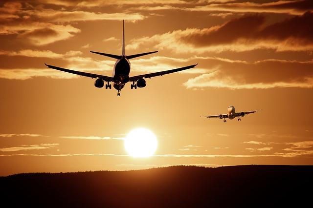 letadla proti sobě